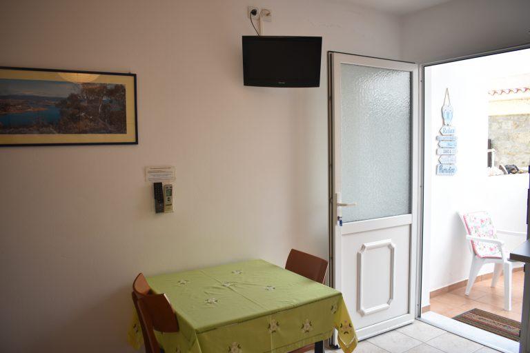 Room 5 Table and Door